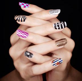 opi sephora nail art