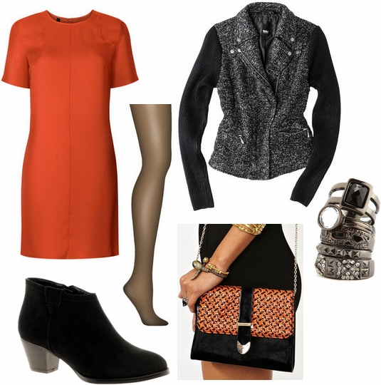 orange and black outfit 4