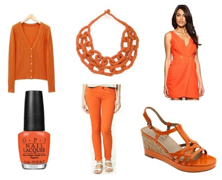 Orange Clothing and Accessories