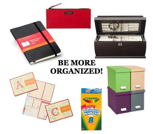Products to help you get organized