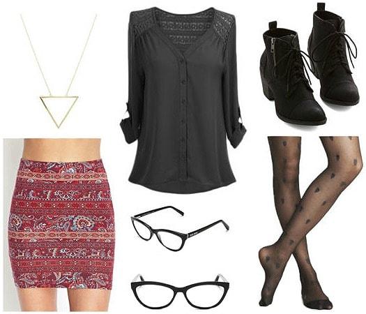 Orphan black Cosima fashion