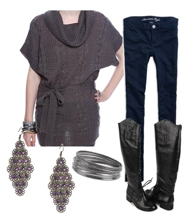 Outfits Under 100 dollars to wear to class - sophisticated sweater