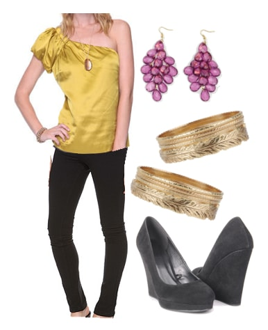 Outfits Under $100: Mardi Gras - On the Town