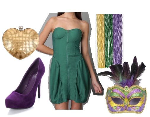 Outfits Under $100: Mardi Gras - Party Time!