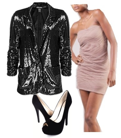 Outfits Under $100: NYE - Sequined & Sophisicated