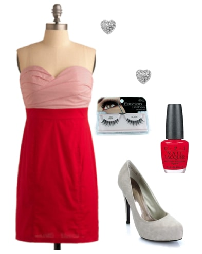 Outfits Under $100: Valentine's Darling Date