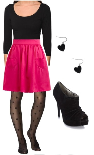 Outfits Under $100: Valentine's Pink Lady