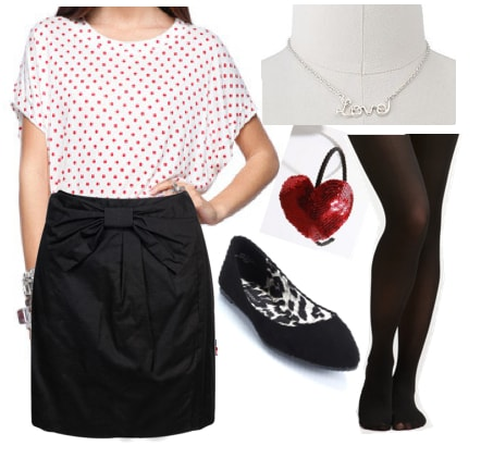 Outfits Under $100: Valentine's Sweetheart