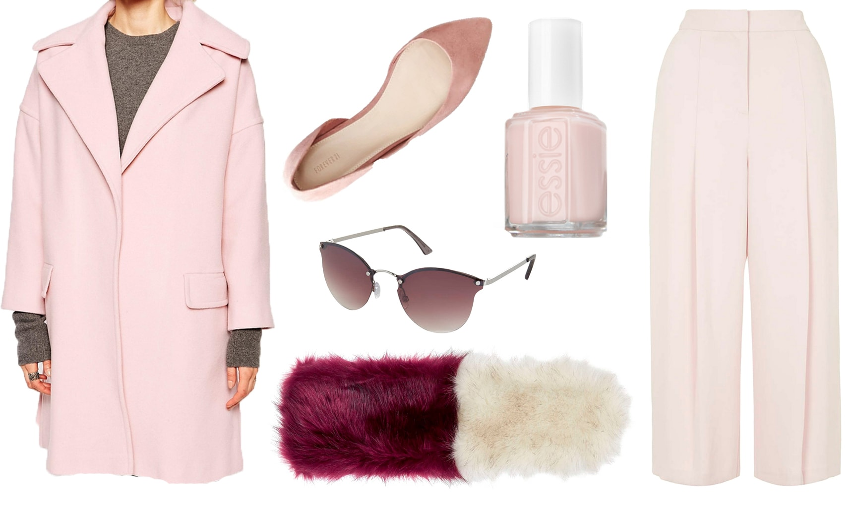 pretty in pink outerwear