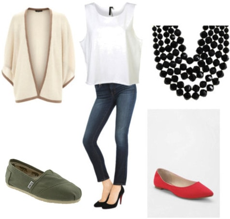 Outfit inspired by Susie Crippen and J Brand