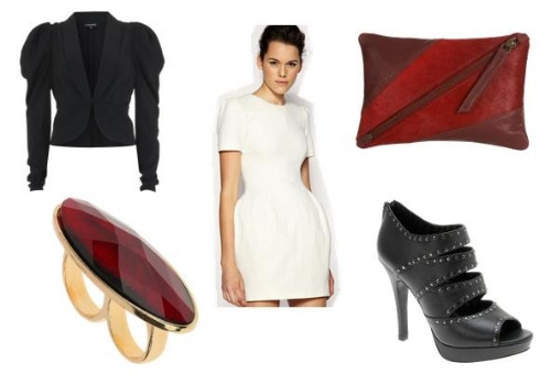 Outfit Inspired by Kat Graham's Structure and Volume