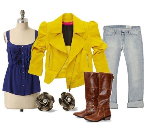 Outfit inspired by Melissas street style
