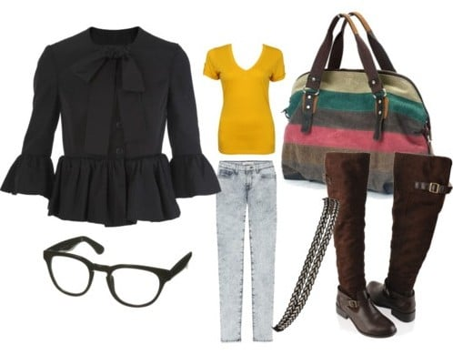 Another outfit inspired by Georgetown University street style
