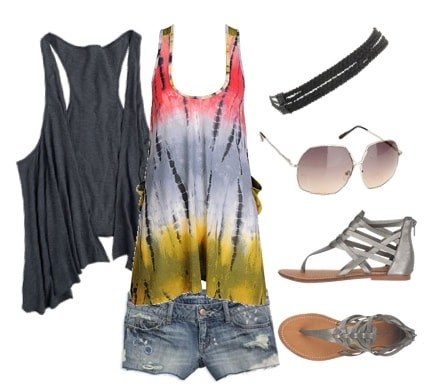 Outfits Under $100: Music Festival - Hippie