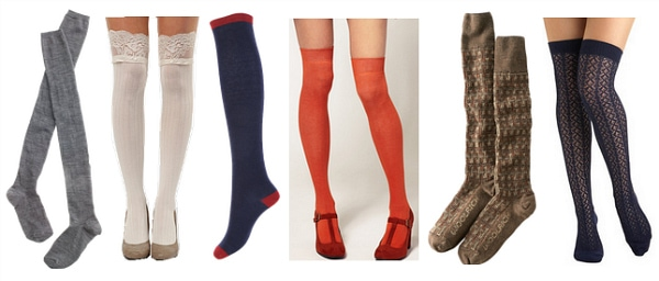 over-the-knee socks fall 2011