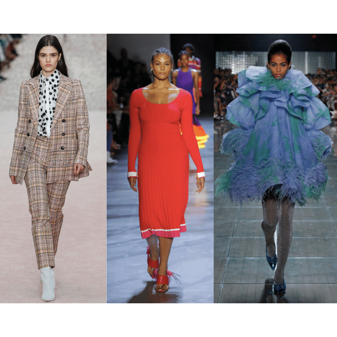 Over the top fashion for spring 2019