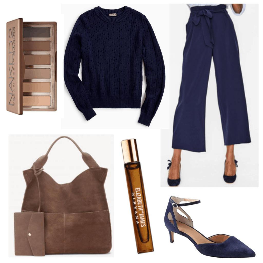 College Fashion - Fall Trends for Work 2018 - Oversize Bag / Navy Monochromatic