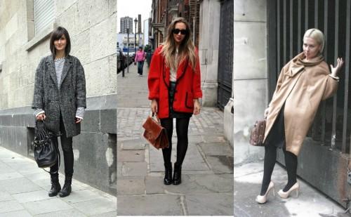 Oversized Coat Street Style