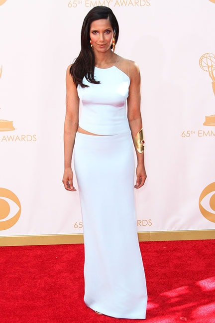 Padma Lakshmi in KaufmanFranco at the 2013 Emmys