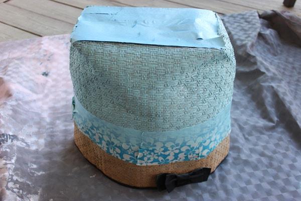DIY Painted Beach Bag: Step 2