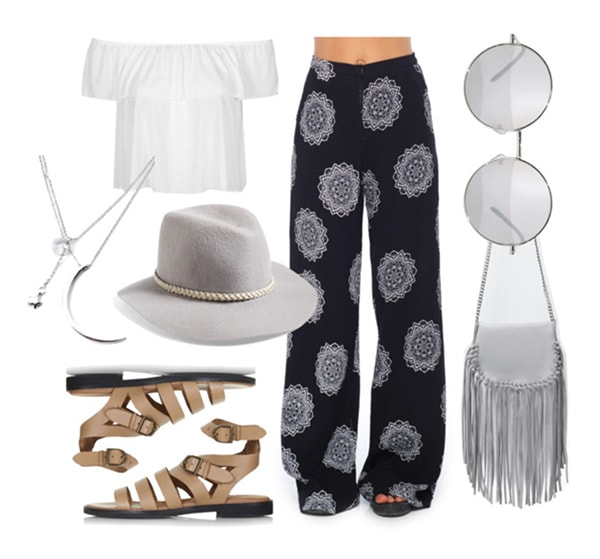 Panama Hat Outfit