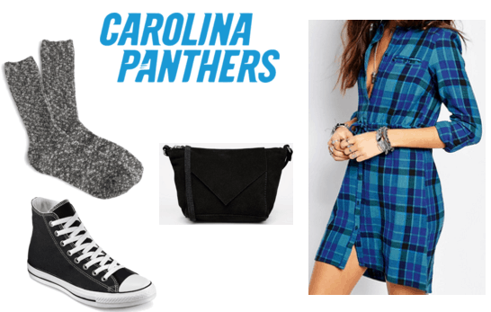 Panthers Superbowl Party Outfit
