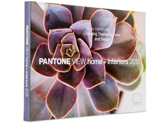 Pantone home interiors 2015
