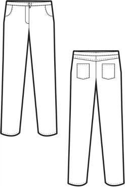 Pants sketch