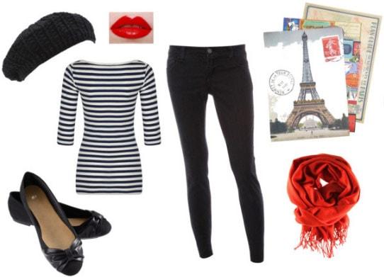 Paris France Costume