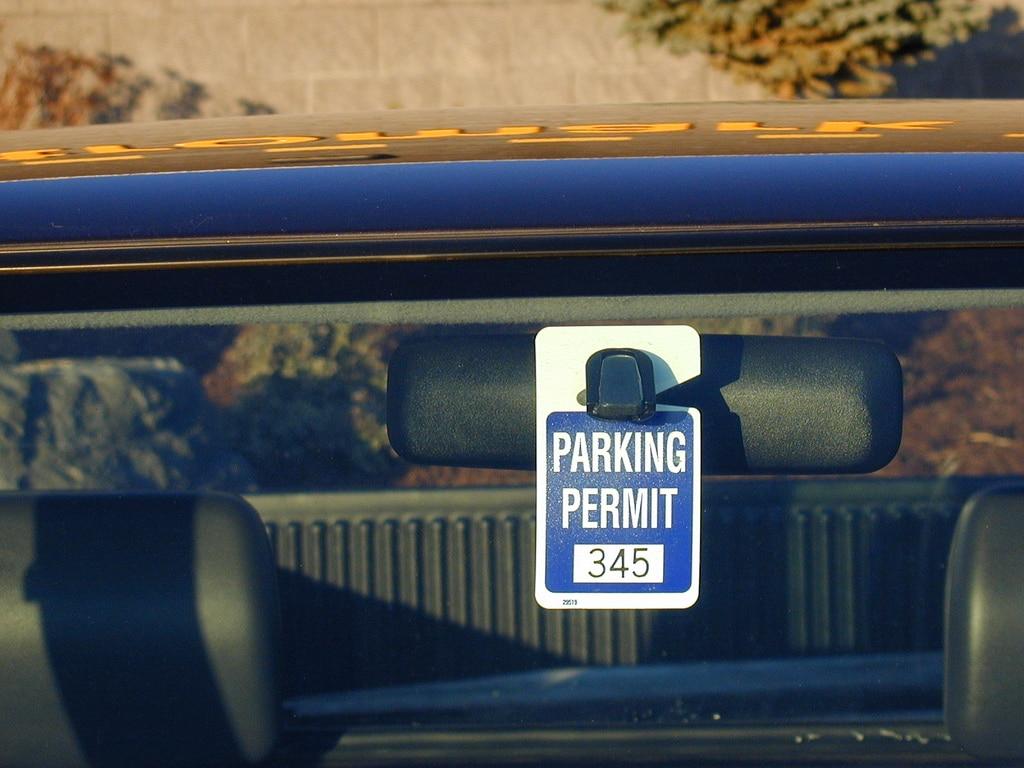 parking pass permit