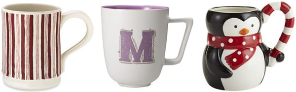 Party host gift ideas: mugs