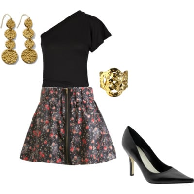 Cute party outfit 1
