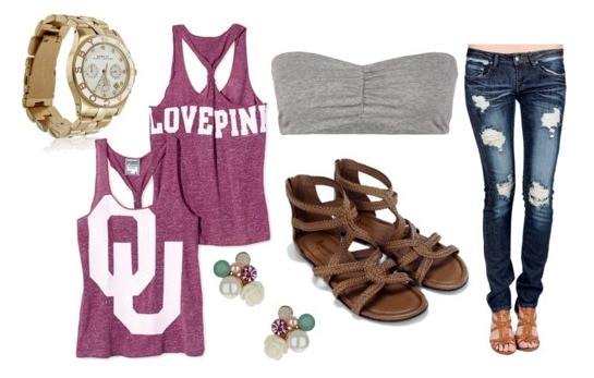 How to wear a party tank - outfit 2