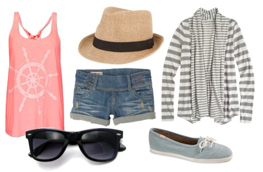 How to wear a party tank - outfit 1