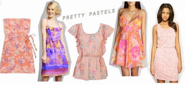 Pretty pastel clothing