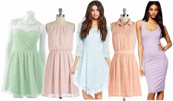 Pastel dresses under $50