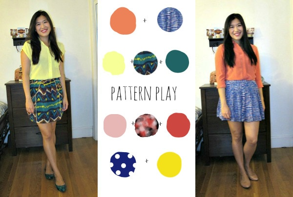 how to mix patterns and colors