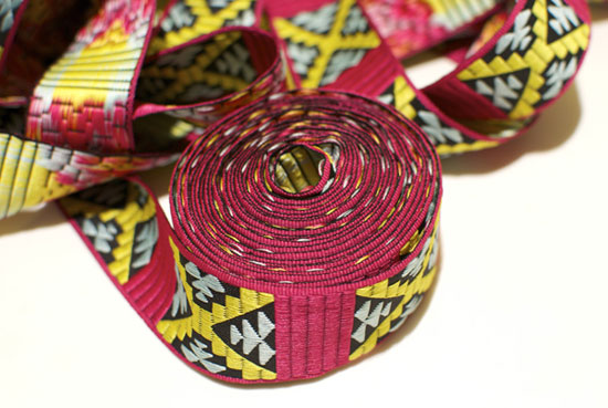 DIY Pattern Trim Skirt: Patterned trim