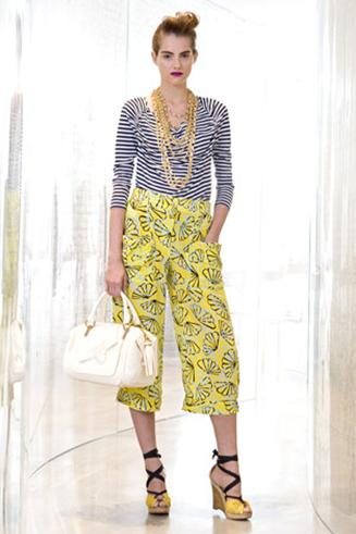 Patterned Derek Lam Pants
