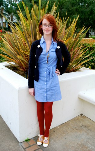 College street style at Loyola Marymount University