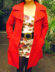 College fashionista at Loyola University Chicago