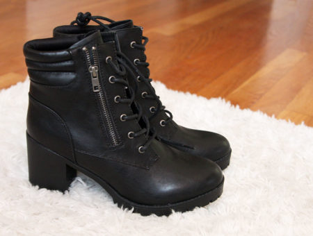 Ankle booties from Payless