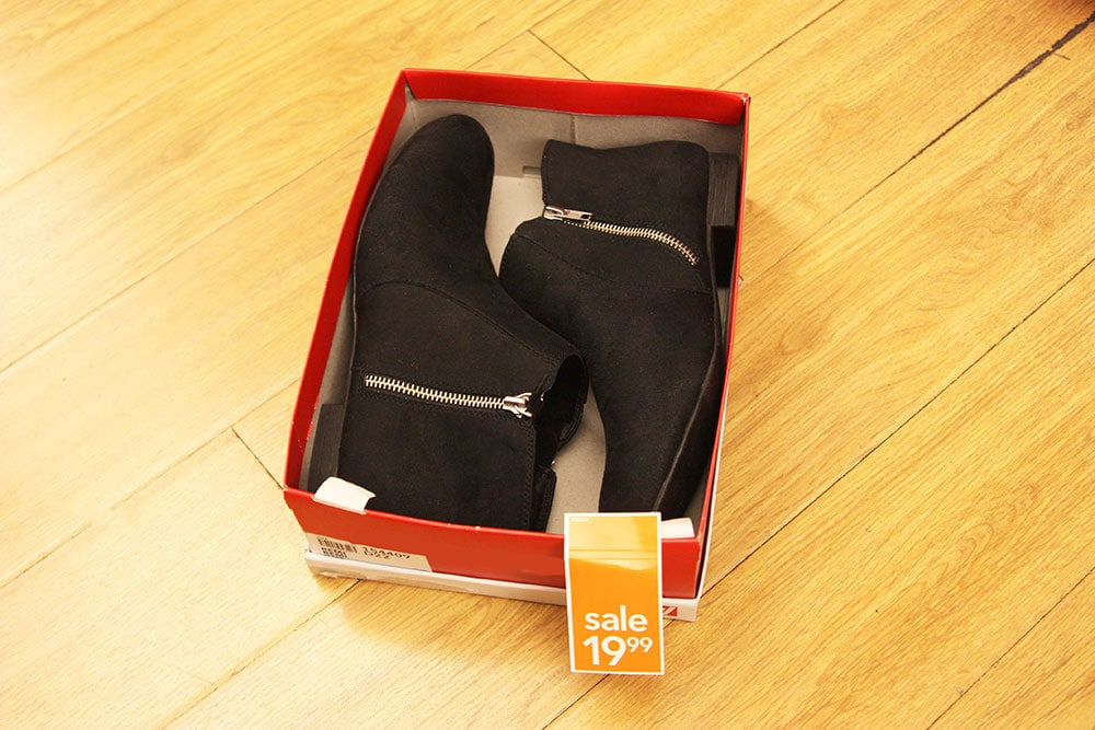 Payless suede ankle boots