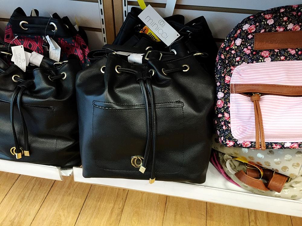 Bucket bag at Payless