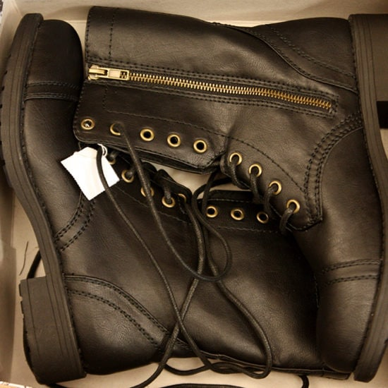 Payless combat boots