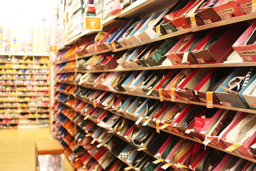 Payless store selection