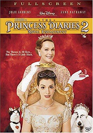 Princess Diaries 2 Movie Poster