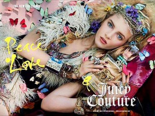 Fashion Inspiration: Peace Love & Juicy Couture fragrance