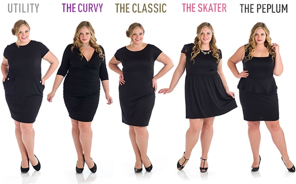 Penny chic lbd collection plus sizes