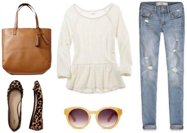 Peplum outfit 1